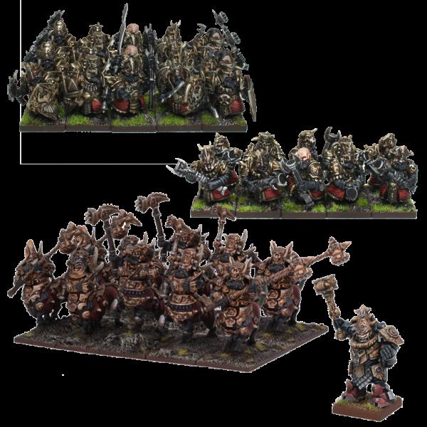 Kings of War 3rd Edition: Abyssal Dwarf Army