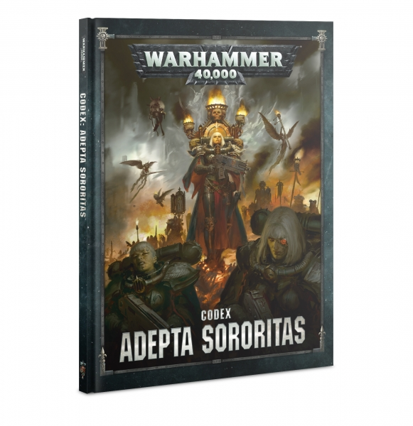 WH40K: Adepta Sororitas Codex (HC) (2020)