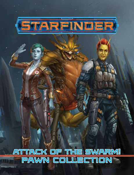 Starfinder RPG: Attack of the Swarm! Pawn Box