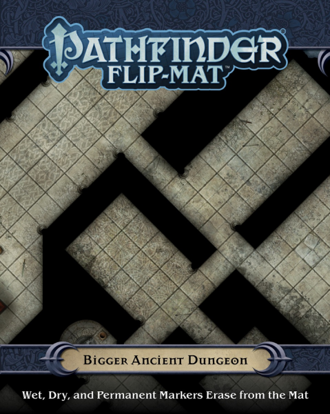 Pathfinder RPG: (Flip-Mat) Bigger Ancient Dungeon