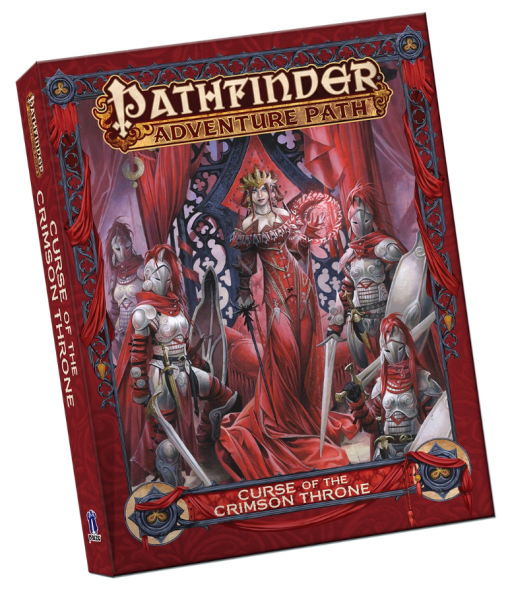 Pathfinder RPG: (Adventure Path) Curse of the Crimson Throne - Pocket Edition
