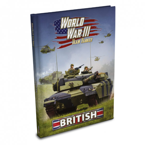 Flames Of War (Team Yankee): World War III - British