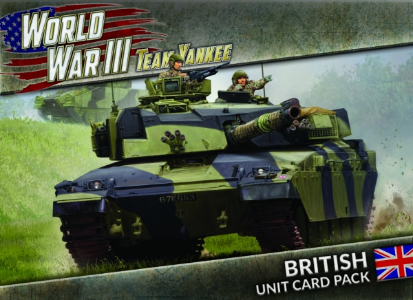 Team Yankee: World War III - British Unit Card Pack