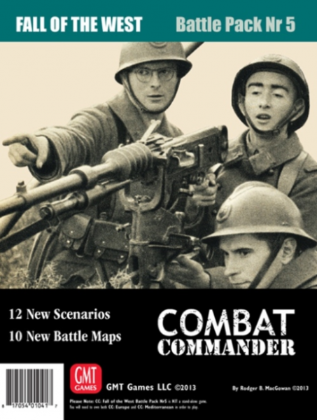 Combat Commander: Battle Pack #5 Fall of the West