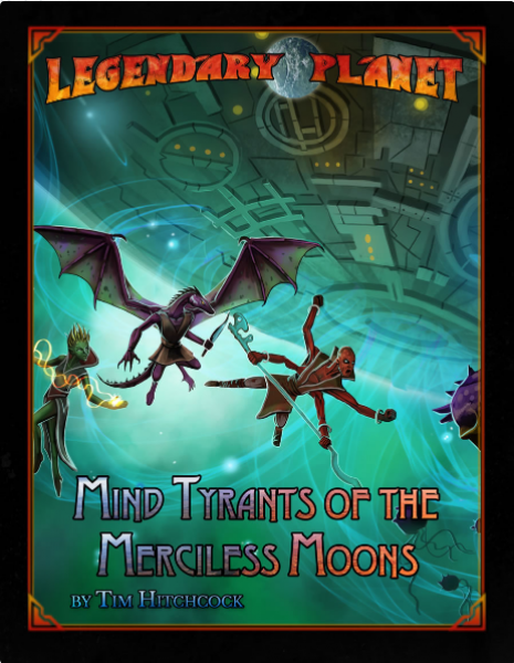 D&D 5th Edition: Legendary Planet - Mind Tyrants of the Merciless Moons (5E)