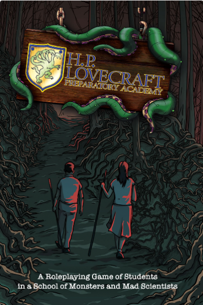 H. P. Lovecraft Preparatory Academy RPG (HC)
