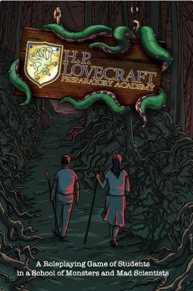 H. P. Lovecraft Preparatory Academy RPG (SC)