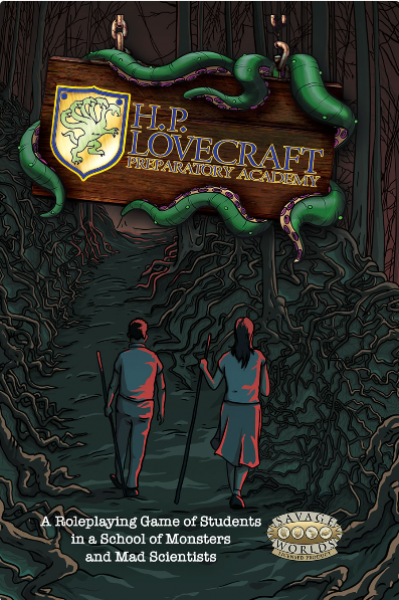 H. P. Lovecraft Preparatory Academy RPG (Savage Worlds Edition)