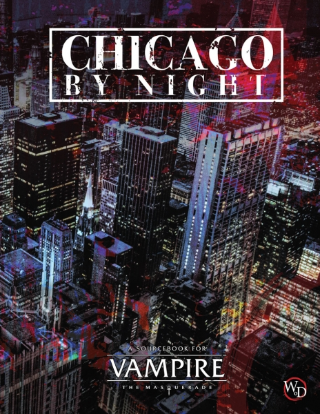 Vampire The Masquerade RPG: Chicago By Night supplement