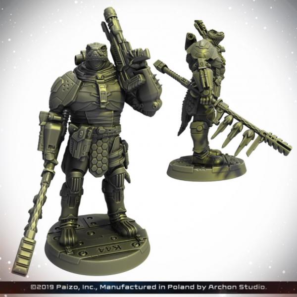 Starfinder: Obozaya, Vesk Soldier