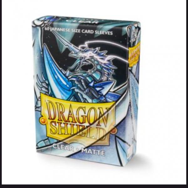 Dragon Shields: Matte Clear Japanese 'Kakush' (60ct.)