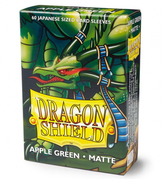 Dragon Shields: Matte Apple Green Japanese 'Eluf' (60ct.)