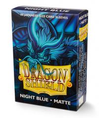 Dragon Shields: Matte Night Blue Japanese 'Delphion' (60ct.)