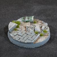 Battle Ready Bases: Urban Warfare Bases - Round 50mm (x3)
