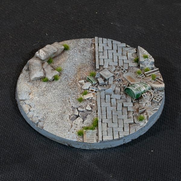 Battle Ready Bases: Urban Warfare Bases - Round 100mm (x1)