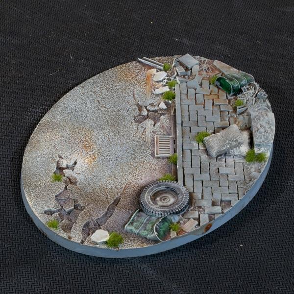 Battle Ready Bases: Urban Warfare Bases - Oval 120mm (x1)