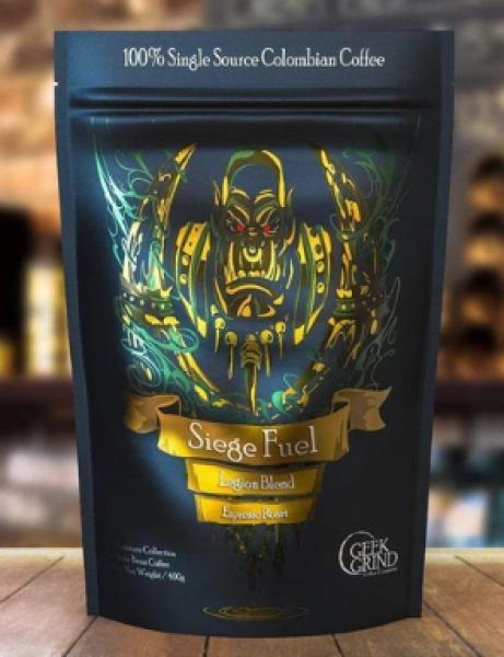 Geek Grind Coffee: Seige Fuel - Espresso Blend - Whole Bean - 12oz