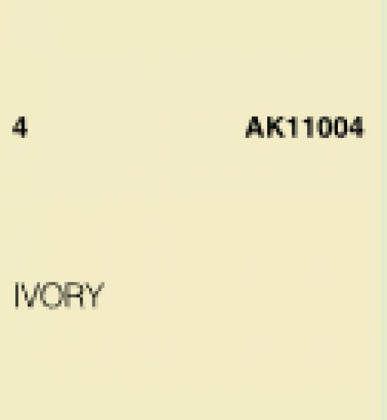 AK-Interactive: (3rd Gen) Acrylic - Ivory (17ml)