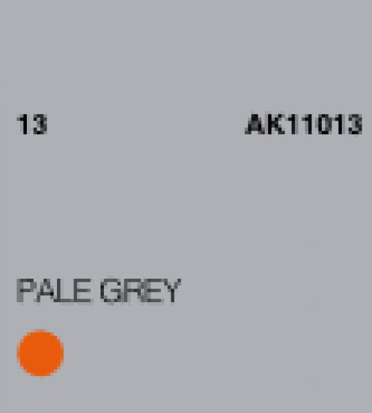 AK-Interactive: (3rd Gen) Acrylic - Pale Grey (17ml)