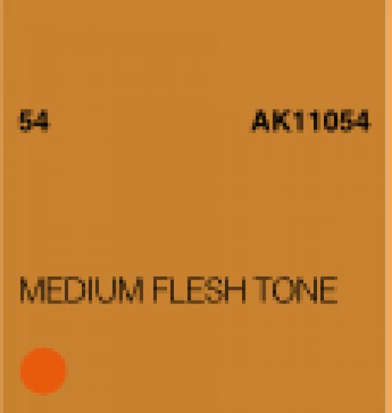 AK-Interactive: (3rd Gen) Acrylic - Medium Flesh Tone (17ml)