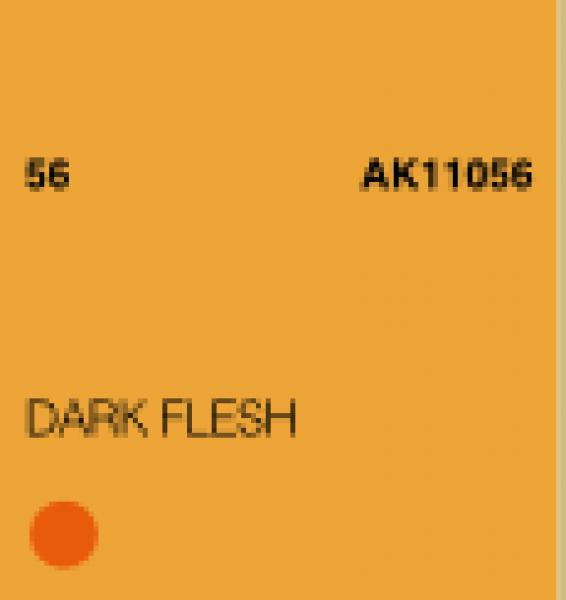 AK-Interactive: (3rd Gen) Acrylic - Dark Flesh (17ml)