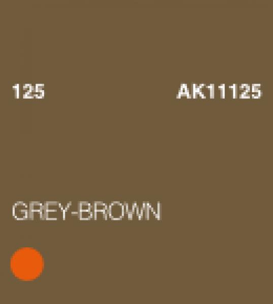 AK-Interactive: (3rd Gen) Acrylic - Grey Brown (17ml)