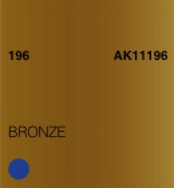 AK-Interactive: (3rd Gen) Acrylic - Bronze (17ml)