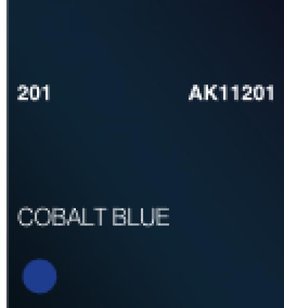 AK-Interactive: (3rd Gen) Acrylic - Cobalt Blue (17ml)