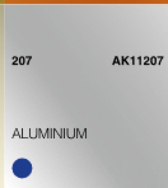 AK-Interactive: (3rd Gen) Acrylic - Aluminium (17ml)