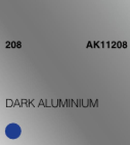 AK-Interactive: (3rd Gen) Acrylic - Dark Aluminium (17ml)