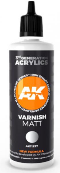 AK-Interactive: (3rd Gen) Matt Varnish (100 ml)