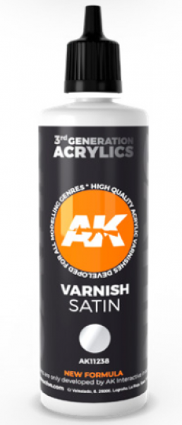 AK-Interactive: (3rd Gen) Satin Varnish (100 ml)
