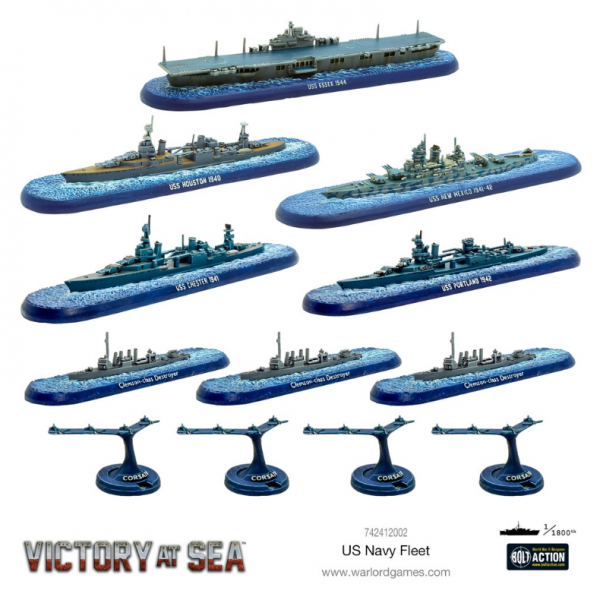 Victory at Sea: US Navy Fleet