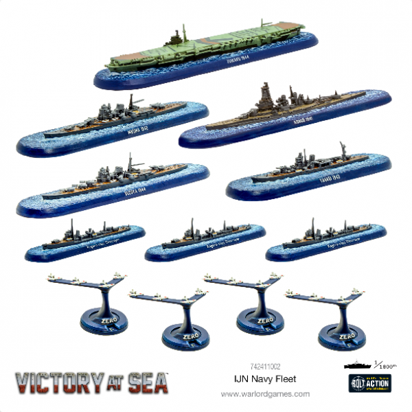 Victory at Sea: Imperial Japanese Navy (IJN) Fleet