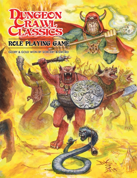 Dungeon Crawl Classics RPG: Beastman Limited Edition