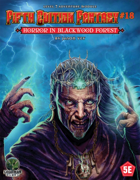 Dungeons & Dragons RPG: (Fifth Edition Fantasy) #18 Horror in Blackwood Forest