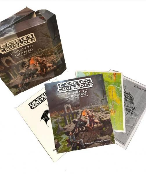 Castles & Crusades RPG: Umbrage Saga Box Set