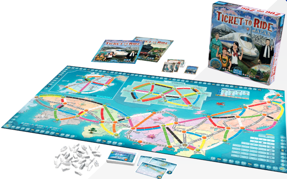 Ticket to Ride Map Collection 7: Japan/Italy