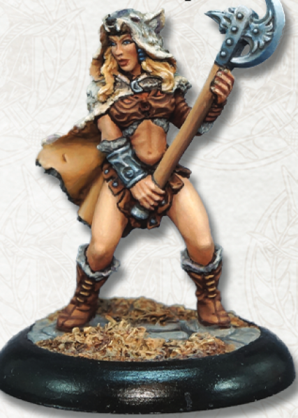 Dark Heaven Legends: Kyrie, Female Barbarian