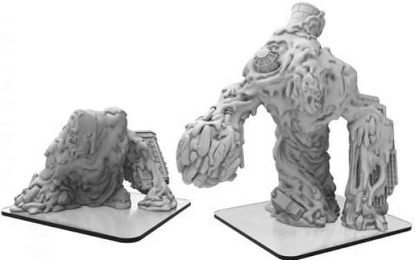 Monsterpocalypse: Globbicus – Monsterpocalypse Waste Monster (metal/resin)