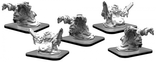 Monsterpocalypse:  Toxxos and Absorbers – Monsterpocalypse Waste Unit (metal/resin)