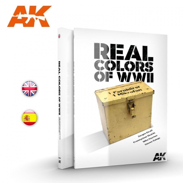 AK-Interactive: REAL COLORS OF WWII