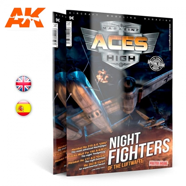 AK-Interactive: Aces High Magazine Issue 01 - NIGHT FIGHTERS