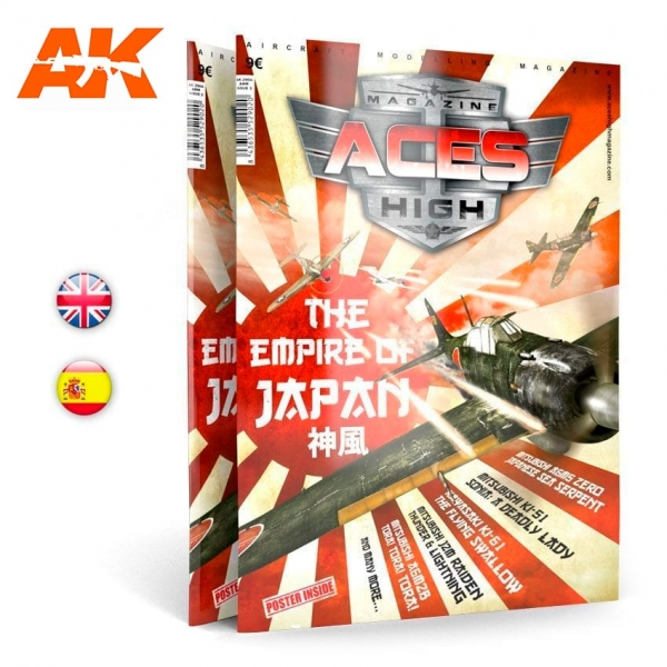 AK-Interactive: Aces High Magazine Issue 03 - THE EMPIRE OF JAPAN
