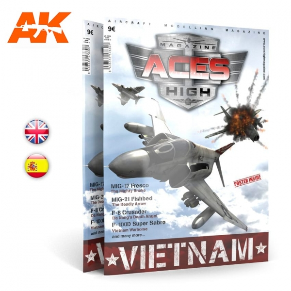 AK-Interactive: Aces High Magazine Issue 05 - VIETNAM