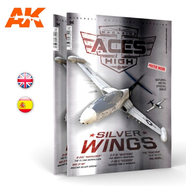 AK-Interactive: Aces High Magazine Issue 07 - SILVER WINGS