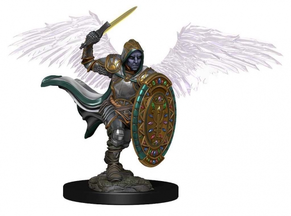 D&D Miniatures: Icons of the Realms Premium Set 2 - Aasimar Male Paladin