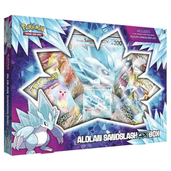 Pokemon CCG: Alolan Sandslash-GX Box