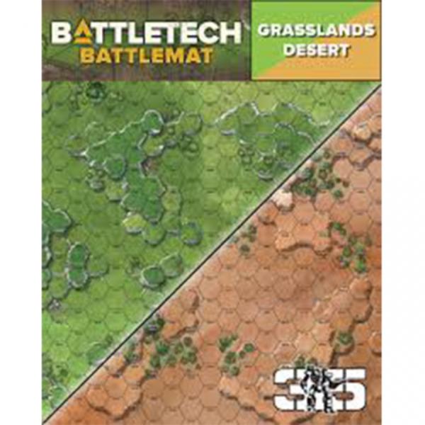 BattleTech Battle Mat: Grasslands Desert
