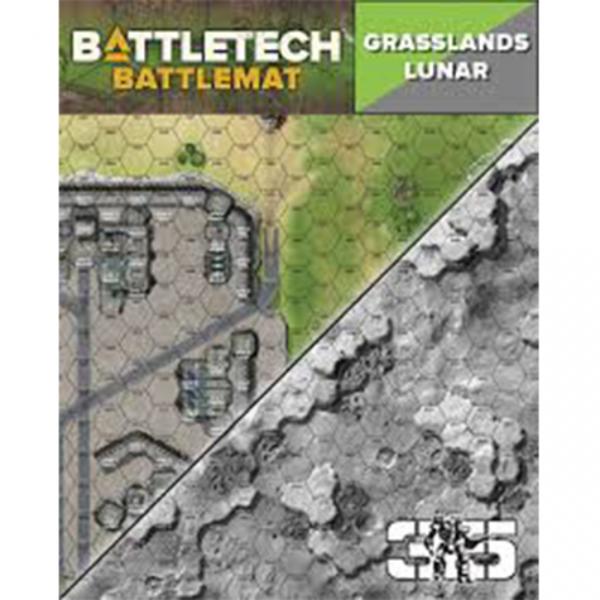 BattleTech Battle Mat: Grasslands Lunar